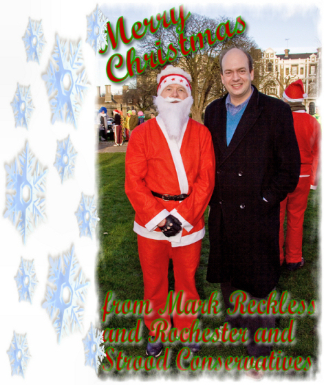 Merry Christmas from Mark Reckless