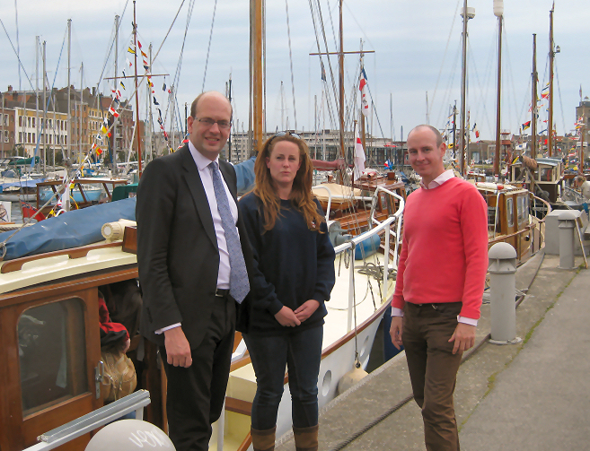 Cllr Mark Reckless MP, Kelly Tolhurst and Daniel Hannan MEP