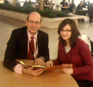 Mark Reckless and Jennifer Watts