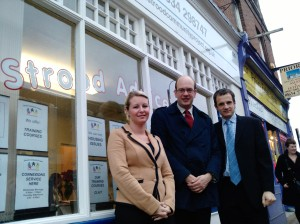 Mark Reckless visits Strood Community Project