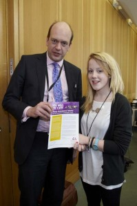 Mark Reckless and Hollie Ryan