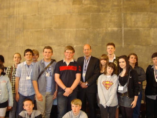 Mark Reckless meets Medway Youth Parliament