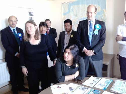 Baroness Warsi meets local Party members