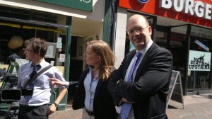 Mark Reckless MP on the streets of Chatham