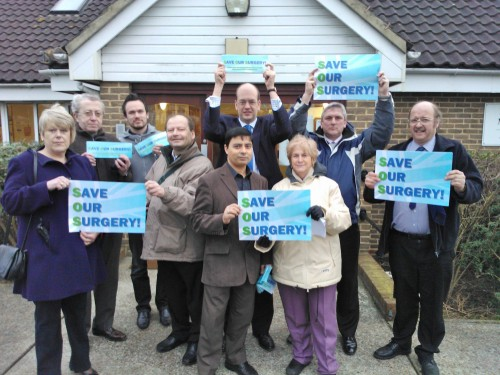 Local residents and councillors standing up for local services in Strood South