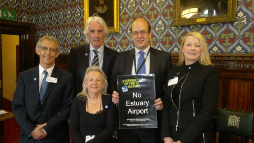 Mark Reckless MP welcomes RSPB and Friends of North Kenth Marshes to Parliament