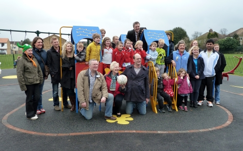 Mark Reckless MP joins local councillors and residents to open new Rosebery Road recreation ground