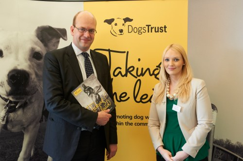Mark Reckless MP and Laura Vallance of Dogs Trust
