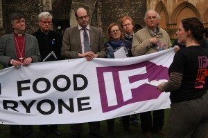 Launch of IF campaign at Rochester Cathedral 2